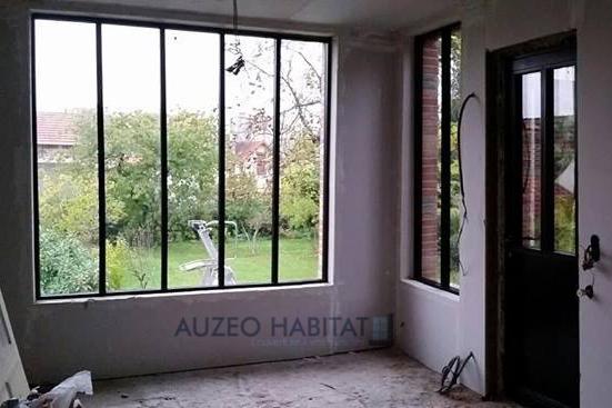Auzeo habitat l 39 ouverture vos mesures acier for Pont thermique fenetre