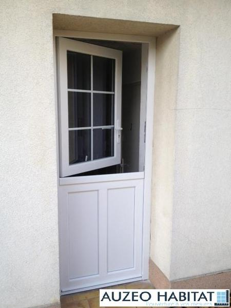 Auzeo habitat nos r alisations portes d 39 entr e pvc - Porte d entree fermiere ...