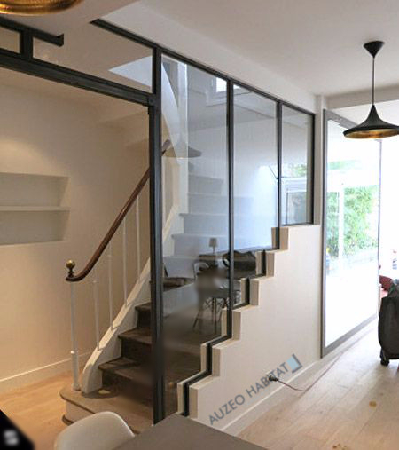 Idee deco montee escalier conceptions architecturales for Idee deco montee escalier