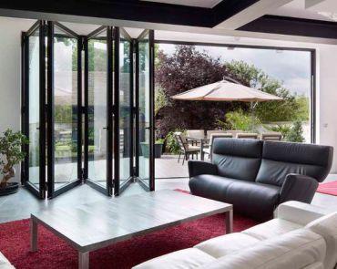 Porte Baie repliable aluminium