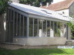 Vérriére aluminium K-LINE, atelier style artiste en aluminium K-LINE