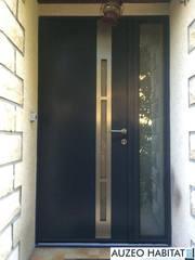 Porte d'entrée aluminium K-LINE