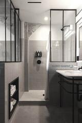 Verriere d'interieur, cloison vitrée salle de bain cuisine, verrière atelier d'artiste