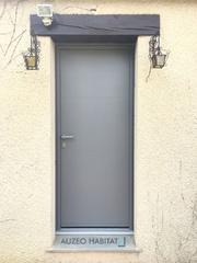 Porte d'entrée aluminium KLINE modèle Canopé