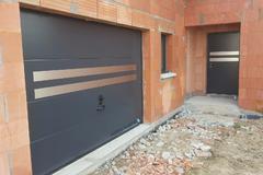 Porte de garage et d'une porte d'entrée, Série spéciale design assorti