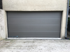 Porte de garage sectionelle isolante HORMAN avec nouveau raccord thermoframe hormann