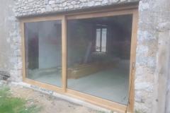 Fenêtre coulissante bois ATULAM