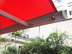 store de terrasse Markilux, spots LED intégrés