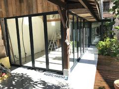 Aluminum K-LINE, Style atelier, coloris gris anthracite RAL 7016S