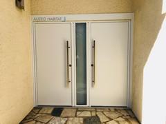 porte en aluminium k Line. Porte double vantaux alu k Line