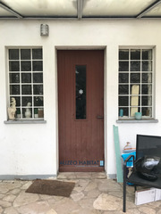 Porte d'entrée PVC VEKA